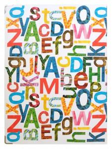 ECクリップボードアルファベットYE2